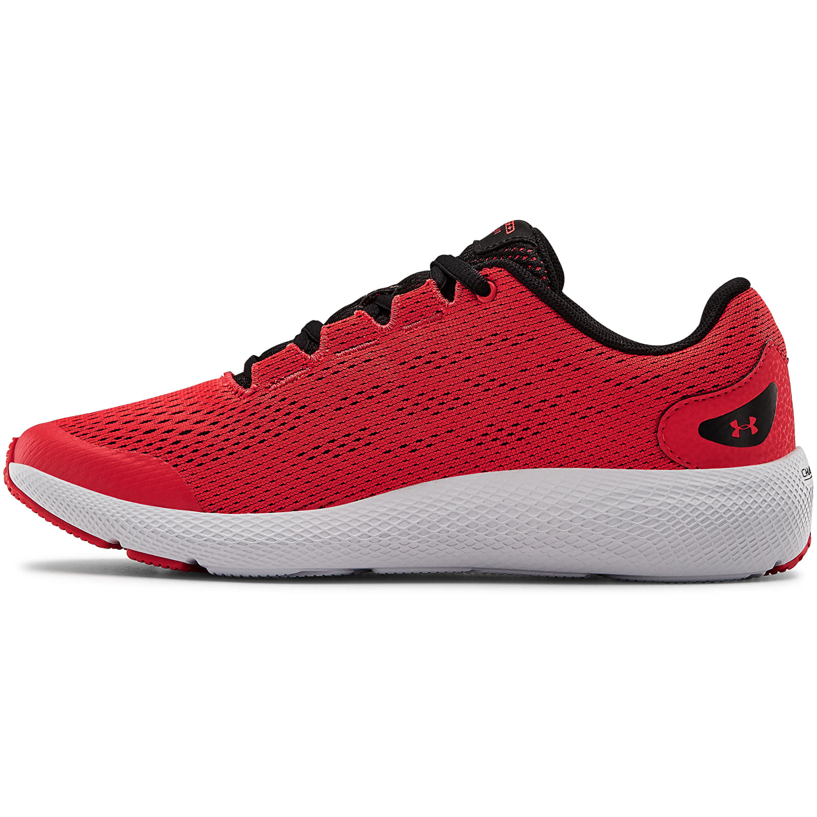 Under Armour GS Charged Pursuit 2 Red 3022860-600