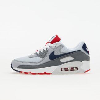 Nike Air Max 90 Pure Platinum/ Midnight Navy-Wolf Grey CZ1846-001
