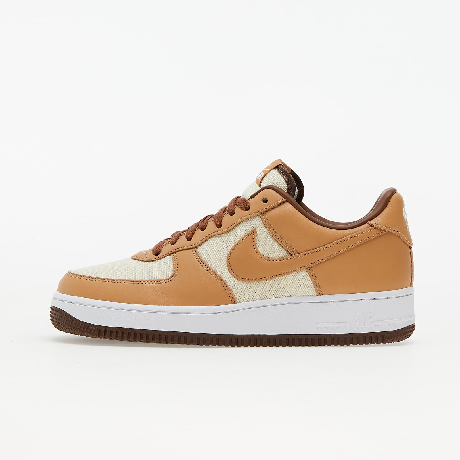 Nike Air Force 1 QS Natural/ Underbrush-Acorn DJ6395-100