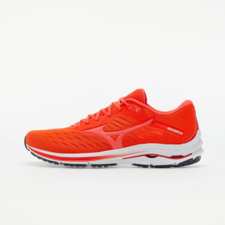 Mizuno Wave Rider 24 Ignition Red/ Fiery Coral 2 10 J1GC200364
