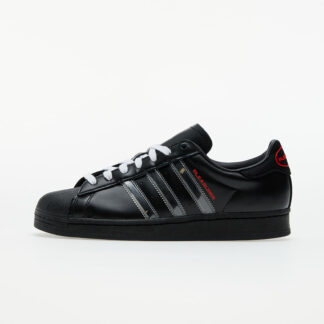 adidas x Pleasures Superstar Core Black/ Ftwr White/ Red 5 GY5691