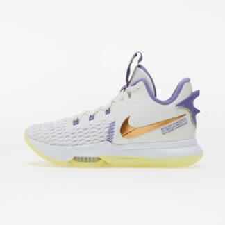 Nike LeBron Witness 5 Summit White/ Mtlc Bronze-White-Lt Zitron 8.5 CQ9380-102