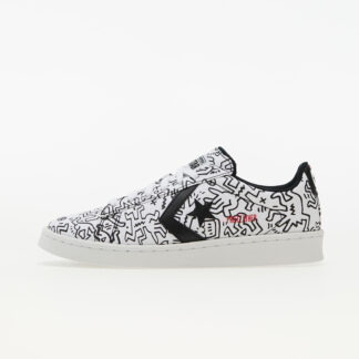 Converse x Keith Haring Pro Leather OX White/ Black/ Red 8 171857C